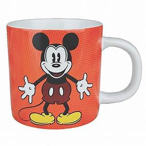 Minnie Mouse Tasse : disney classic mickey mouse retro tasse kaffeebecher rot kaufen ~ Whattoseeinmadrid.com Haus und Dekorationen