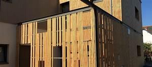Bardage Bois Claire Voie : renovation d 39 une cr che ~ Dailycaller-alerts.com Idées de Décoration