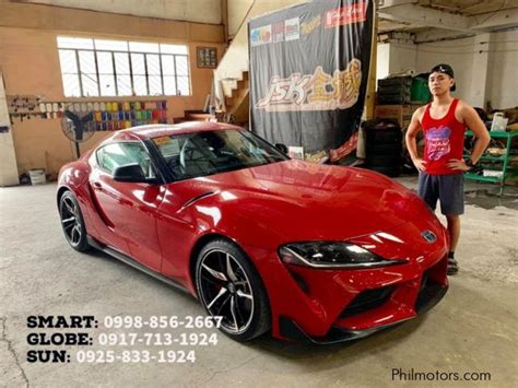 Here are all the 2020 toyota supra's prices, trim levels, colors, and options. New Toyota Philippines Supra AT | 2020 Philippines Supra ...