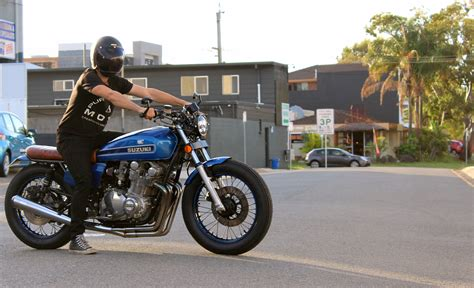 Gs1000 Suzuki by Suzuki Gs1000 Brat Cafe Racer Purpose Built Moto