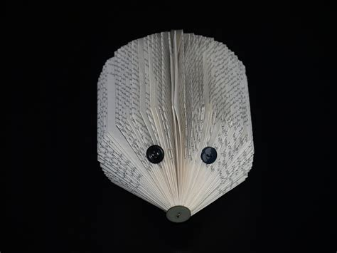 Book Hedgehog · How To Make A Piece Of Book Art · Paper