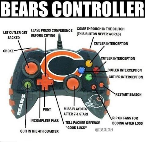 Funny Chicago Bears Memes - 60 best images about nfl memes on pinterest oakland raiders new york jets and tony romo
