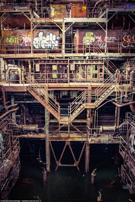 Service New Orleans by Spectacular Photos Show Abandoned New Orleans Power Plant