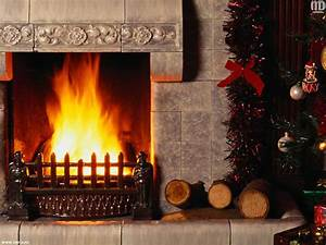 Wallpaper fire, new year, christmas, fireplace, Christmas ...