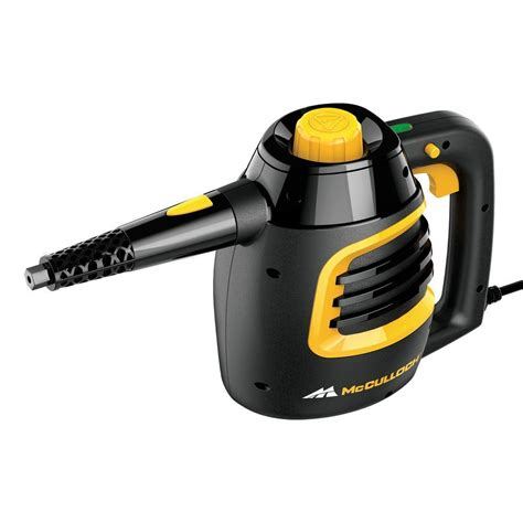 portable steam cleaner mcculloch handheld steam cleaner mc1230 the home depot