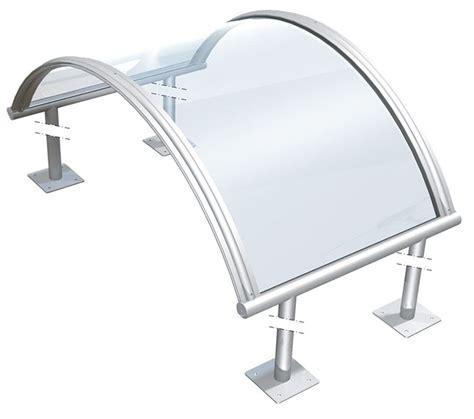 Coperture In Plexiglass Per Terrazzi by Tettoie Trasparenti Pensiline In Plexiglas E Molto Altro