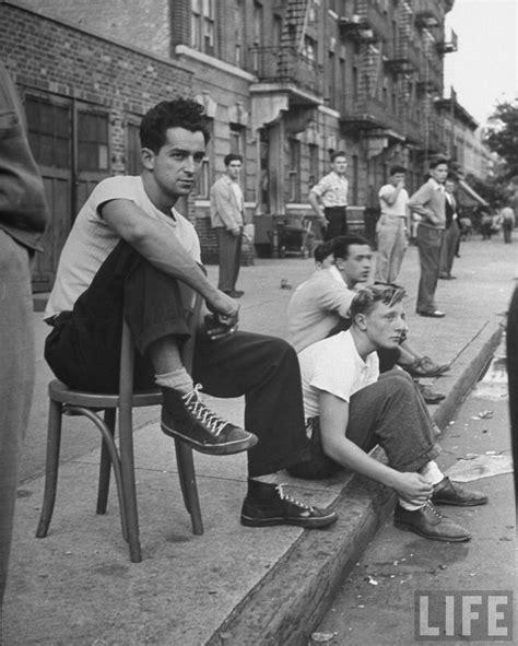 Street Scene New York City 1950s Photo Vintage