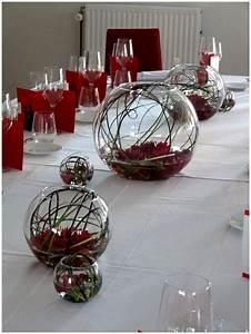 Décoration Mariage Rouge Et Blanc : deco de table mariage rouge et blanc ~ Melissatoandfro.com Idées de Décoration