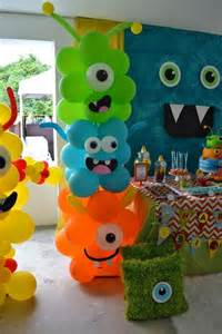 monsters inc baby shower decorations awesome balloon decorations 2017