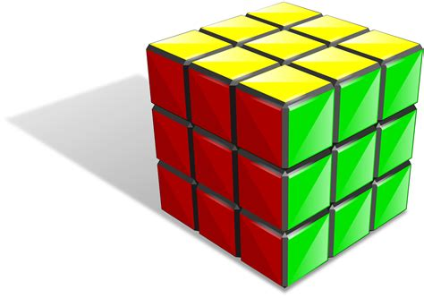 Puzzle Clipart Rubix Cube  Pencil And In Color Puzzle