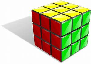 Puzzle clipart rubix cube - Pencil and in color puzzle ...