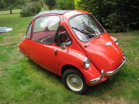 Heinkel Trojan 200 3 Wheel Bubble Car 1963. One Of The