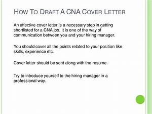 How to draft cna cover letter for Cover letter for drafting position