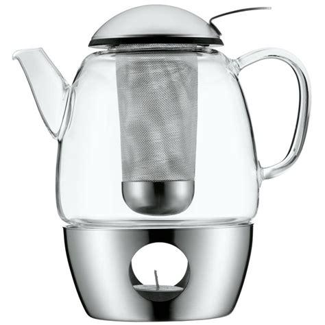 glas teekanne mit sieb wmf smartea set glas teekanne mit edelstahl st 246 vchen