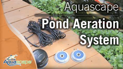 aquascape pond aerator aquascape s pond aeration systems