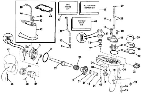 Force Buitenboordmotor 70 Pk by 4 Hp Evinrude Outboard Diagram 4 Free Engine Image For