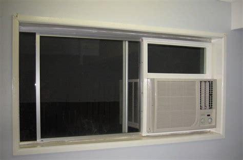 sliding windows air conditioners  window ac unit  pinterest