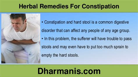 How To Harden Stool - effective herbal remedies for constipation and stool