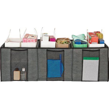 purse rack walmart simplify trunk shopping bag organizer walmart
