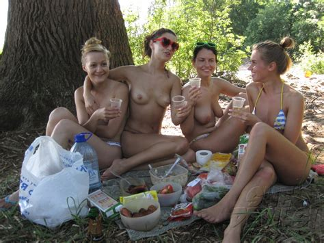 incredibly hot real girl friends get drunk at a nude beach