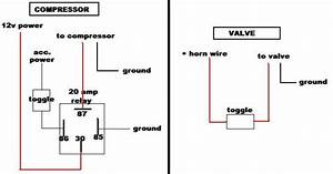 Air Horn Wiring Diagram Compressor