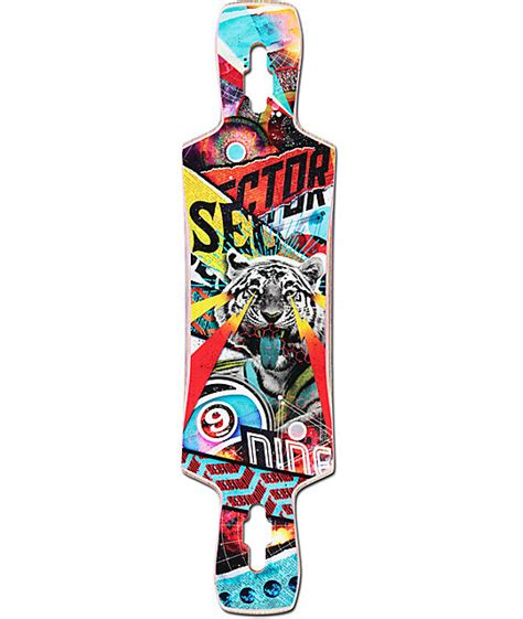 Drop Deck Longboard Zumiez by Sector 9 Static 39 5 Quot Drop Through Longboard Deck At