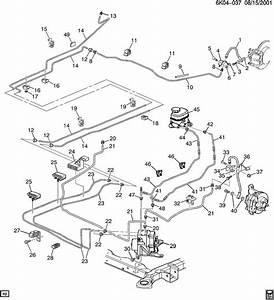 Wiring Diagram  35 2001 Chevy Tahoe Brake Line Diagram