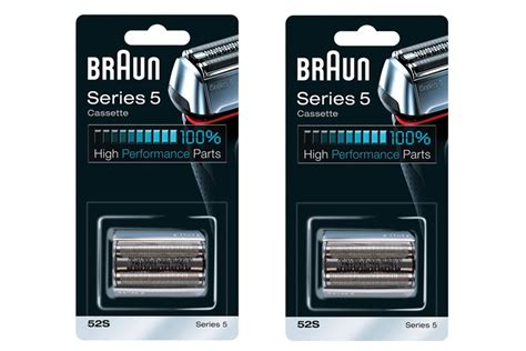 braun series replacement foil cutter silver pack