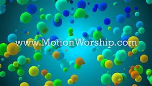 Colorful Bubbles Background Loop for Kids & Children's ...