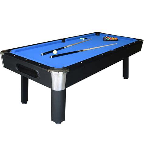 blue felt pool table sportcraft 8 39 bay shore blue felt black finish billiard