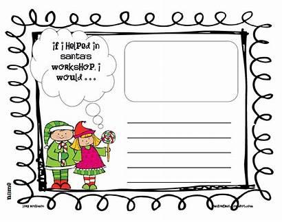 Workshop Santa Clipart Grade Story Cliparts Clip