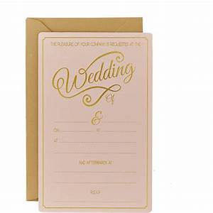 pastel perfection wedding invitations 10 pack hobbycraft With wedding invitations pack of 30