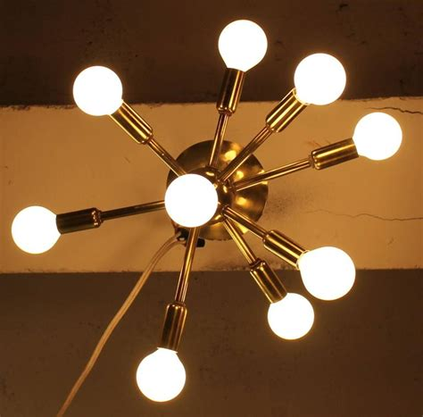 sputnik ceiling light mid century modern at 1stdibs
