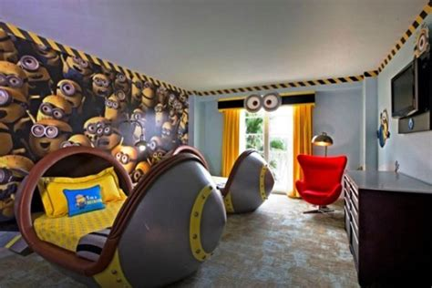 despicable  minion bedrooms