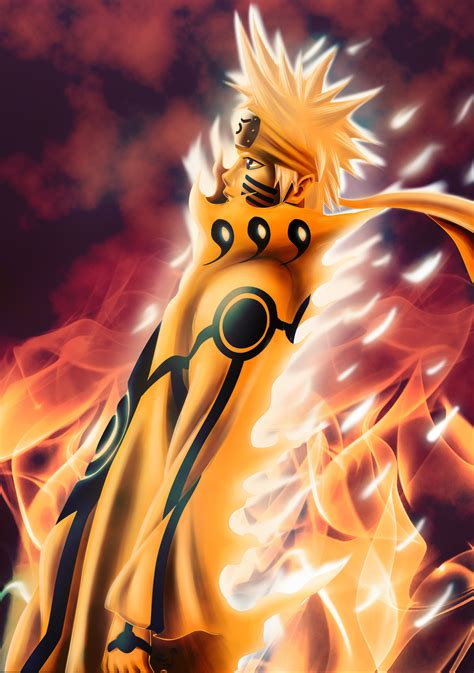 Narutos Bijuu Mode Update Daily Anime Art
