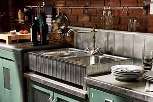 Küche Vintage Style : landhausk che loft k che im vintage style edle k chen ~ A.2002-acura-tl-radio.info Haus und Dekorationen