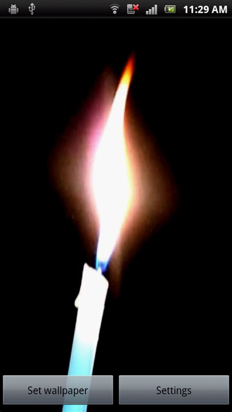 candle light app candle light free apk android app android freeware