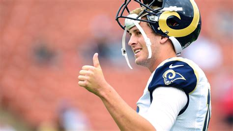 johnny hekker  jared goff  confidence levels