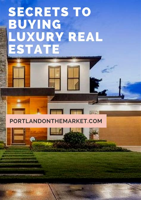 secret tips for buying portland luxury homes