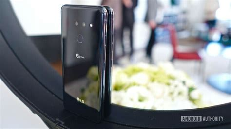 lg g8 thinq on bland on the outside blistering on