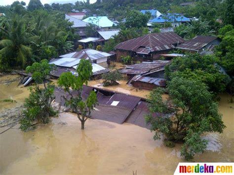 foto  parahnya banjir manado merdekacom