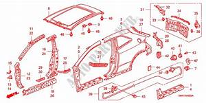 Outer Panels  Rear Panel For Honda Cars Civic 1 4 Base 3