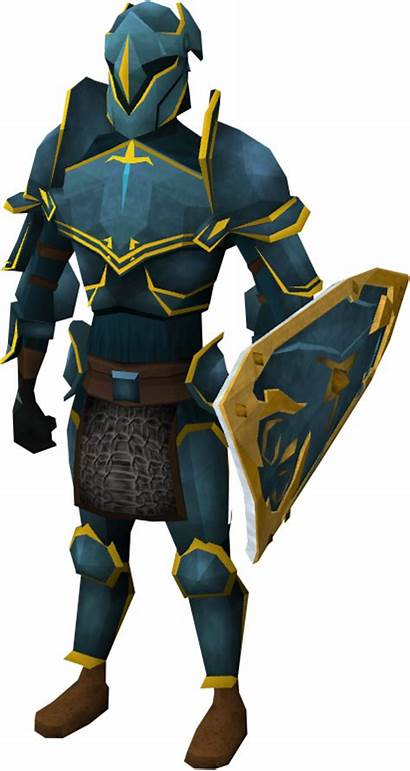 Rune Armour Platebody Runescape Trimmed Gold Trimming