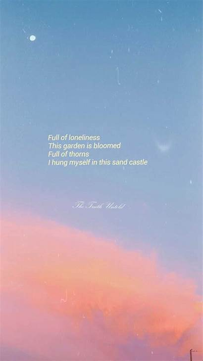 Bts Aesthetic Lyrics Quotes Wallpapers Desktop Quote