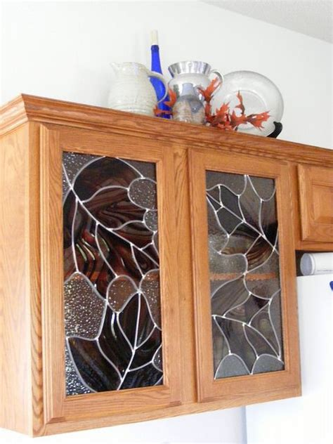 kitchen cabinet glass inserts leaded 30 best images about cabinet glass on custom 7836