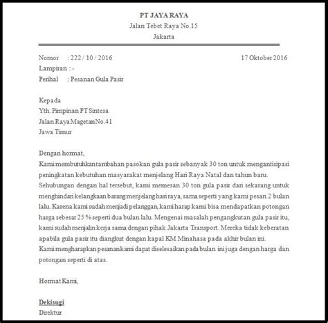 Contoh Surat Penawaran Barang Dalam Bentuk Block Style by Contoh Surat Pesanan Bahasa Inggris Bentuk Block Style