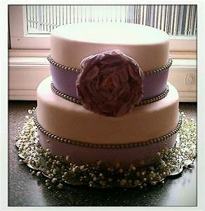 vintage purple bridal shower cake cakes by me With wedding shower cakes pinterest
