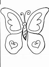 Coloring Butterfly Butterflies Printable Bestcoloringpagesforkids Sheets sketch template