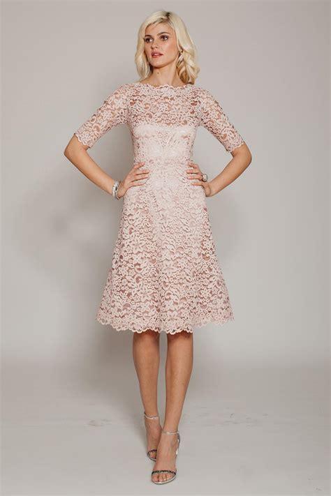 light pink lace dress light pink lace dress with sleeves naf dresses