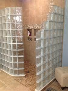 glass block bathroom designs glass block shower wall walk in designs nationwide supply columbus cleveland ohio